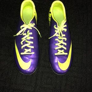 I wore them once, I thought I liked soccer